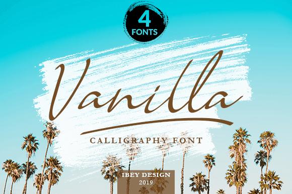 Download Vanilla font (typeface)