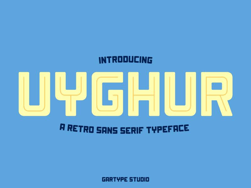 Download Uyghur font (typeface)