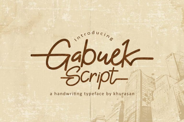 Download Gabuek font (typeface)