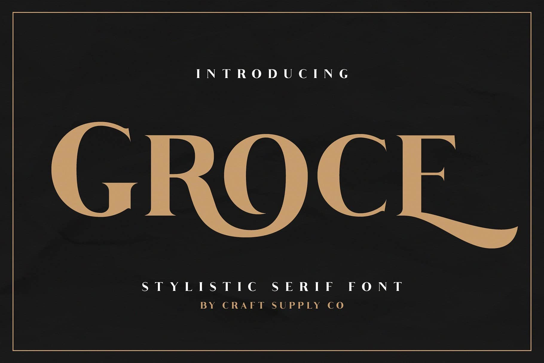 Download Groce font (typeface)