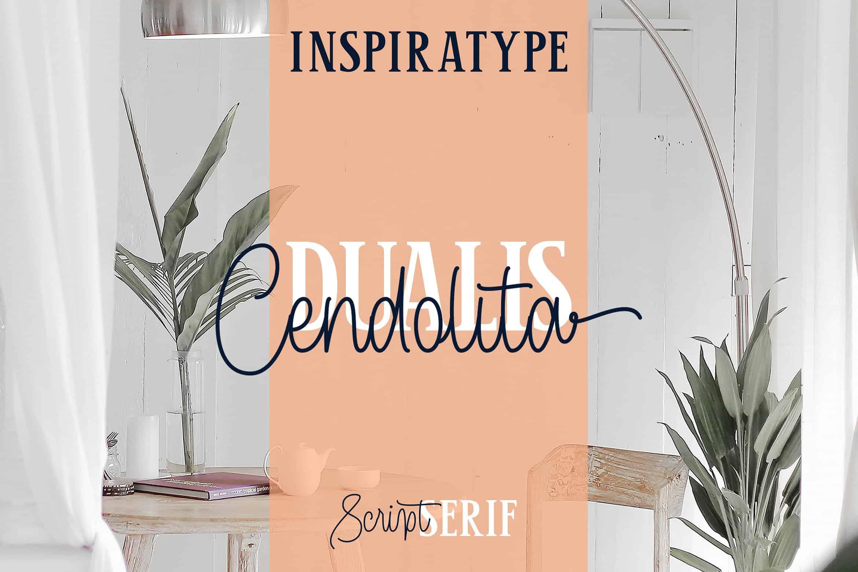 Download Cendolita font (typeface)
