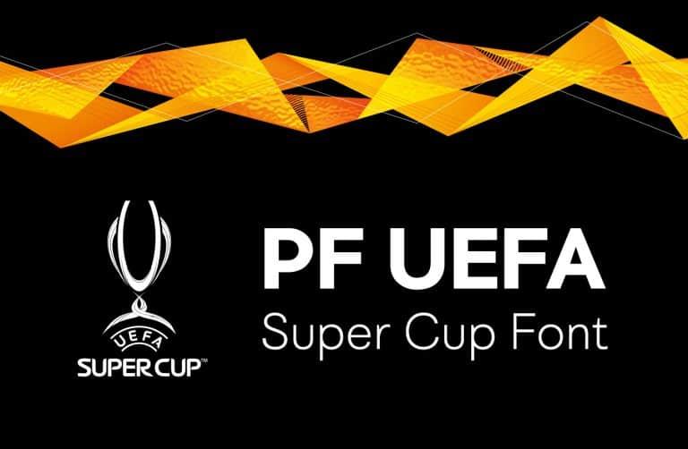 Download PF UEFA font (typeface)
