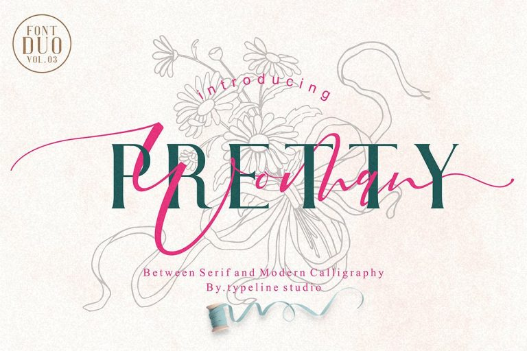 Download Pretty Woman font (typeface)