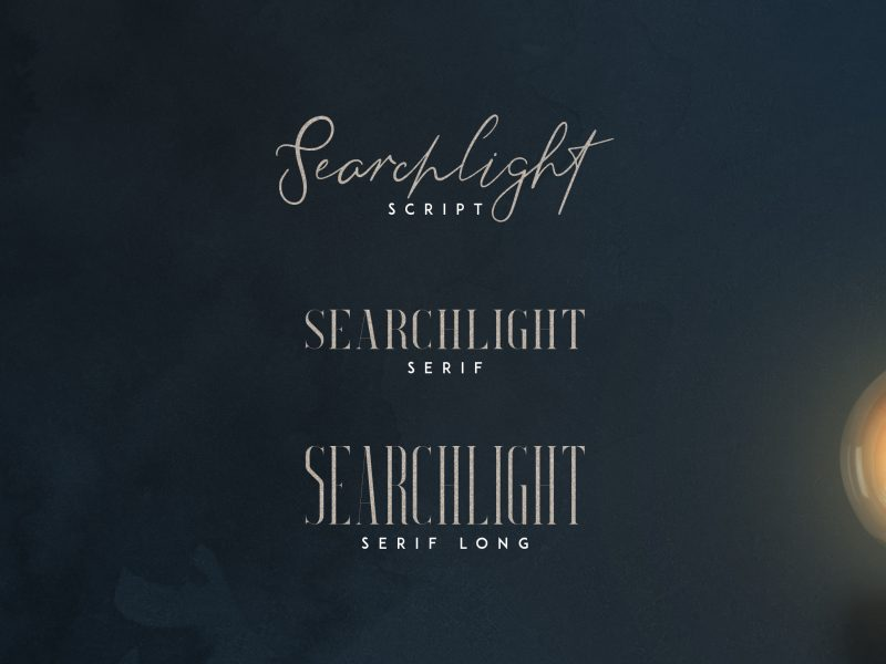 Download Search light font (typeface)