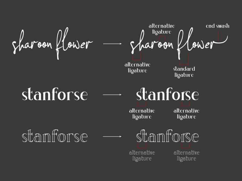 Download Concetta Kalvani font (typeface)