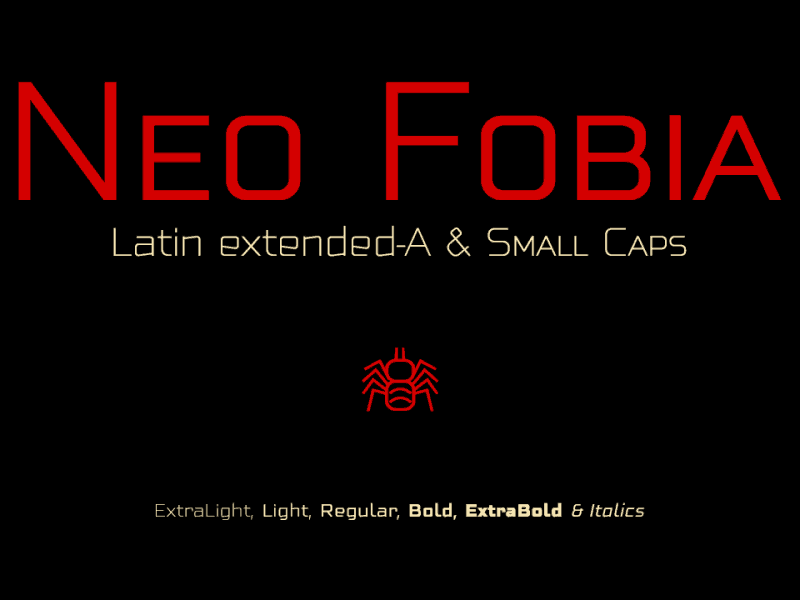 Download Neo Fobia font (typeface)