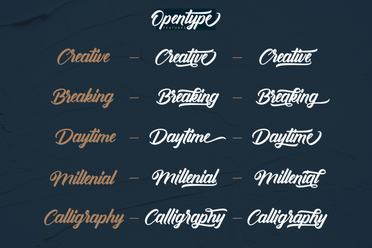Download Antonellie font (typeface)
