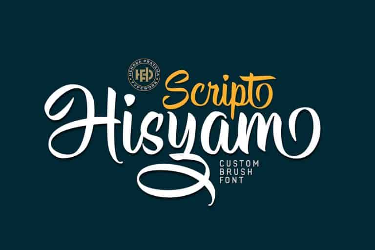 Download Hisyam font (typeface)