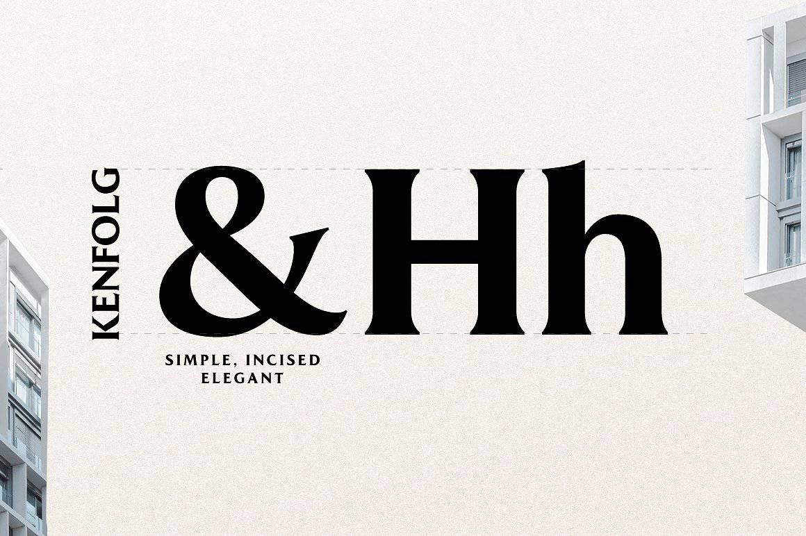 Download Kenfolg font (typeface)