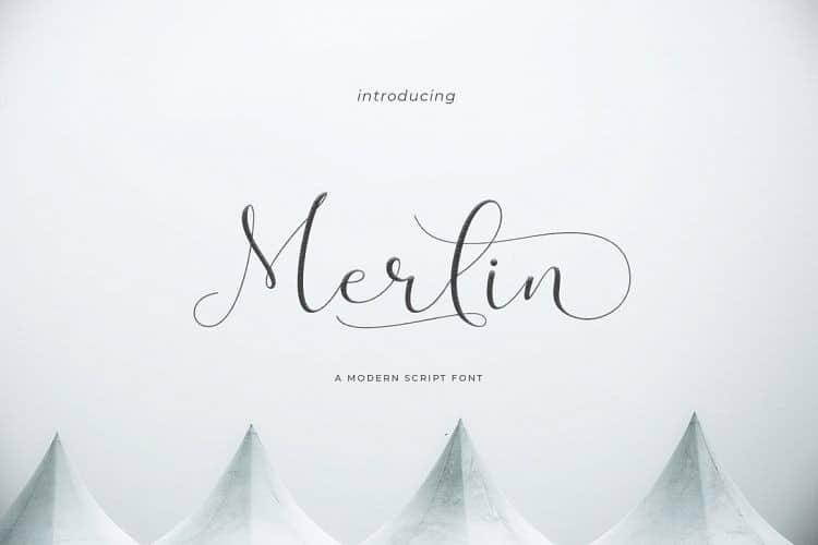 Download Merlin font (typeface)