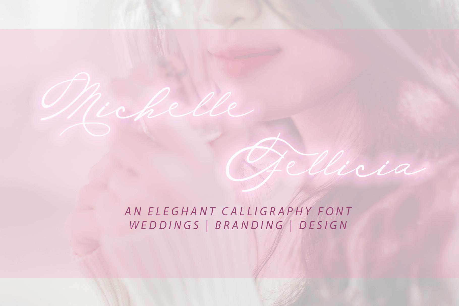 Download Michelle Fellicia font (typeface)