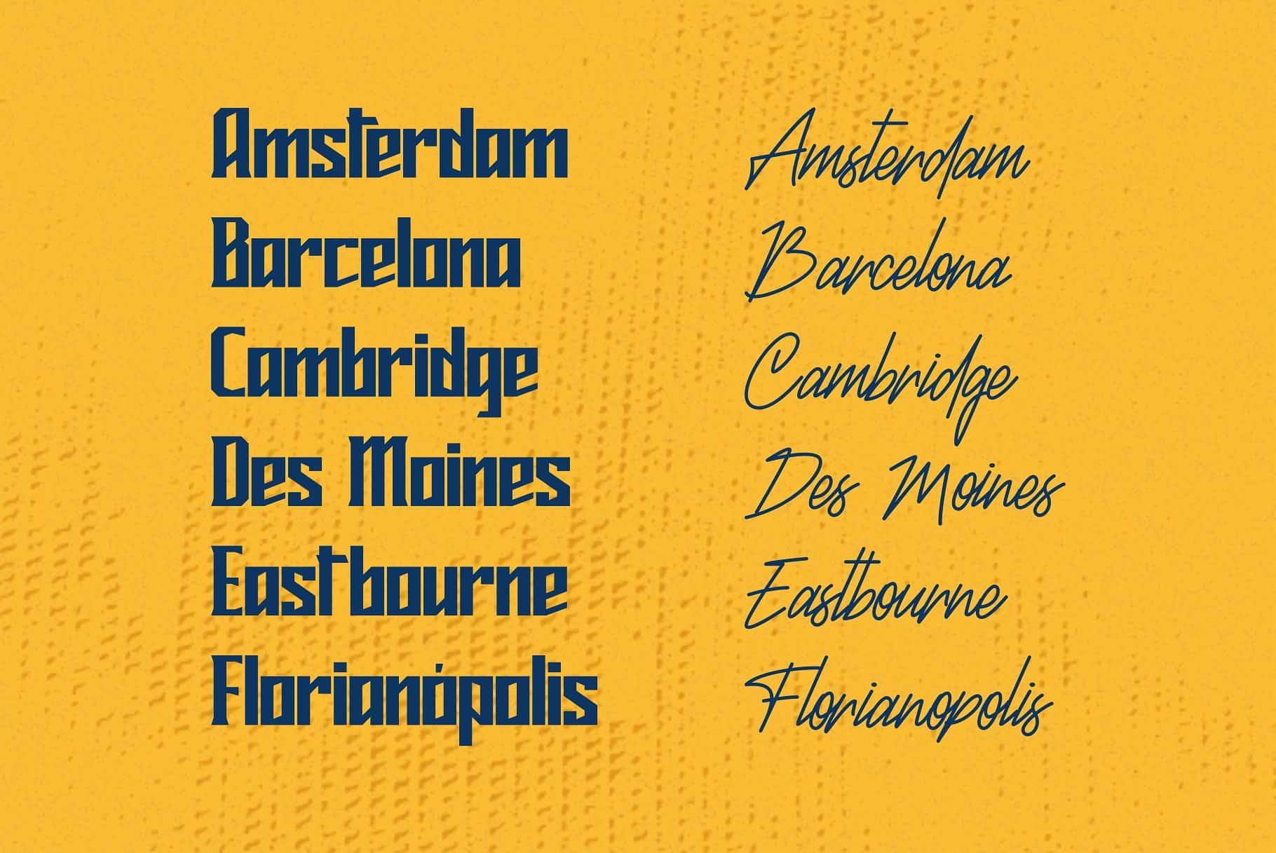 Download Mideltone font (typeface)