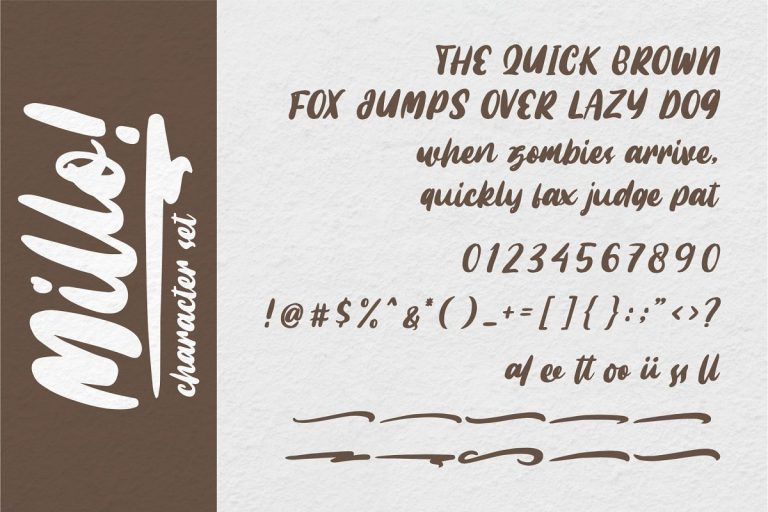 Download Millo font (typeface)