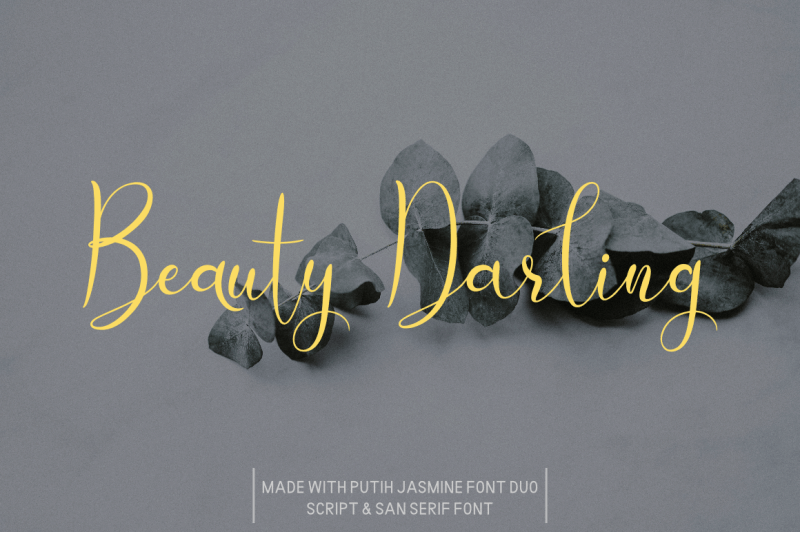 Download Putih Jasmine font (typeface)