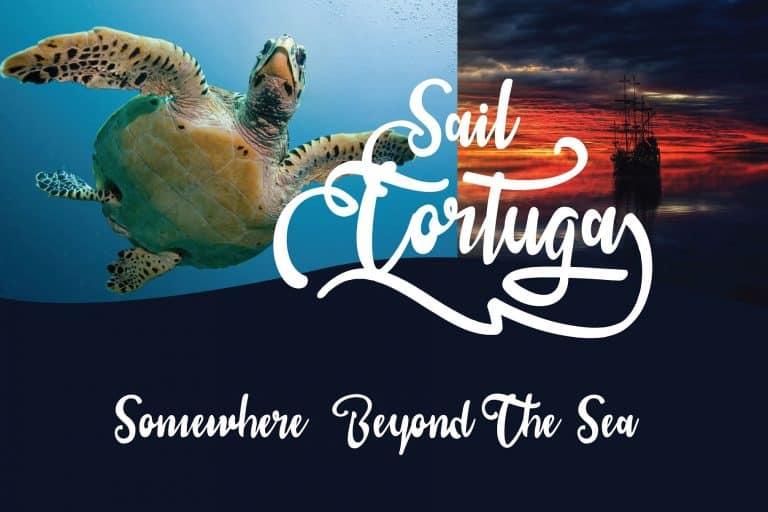 Download Sail Tortuga font (typeface)