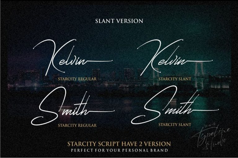Download Starcity font (typeface)