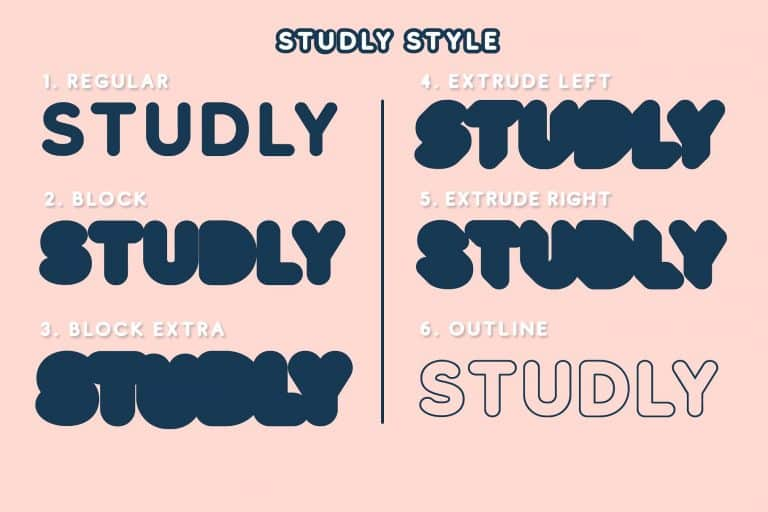 Download Studly font (typeface)