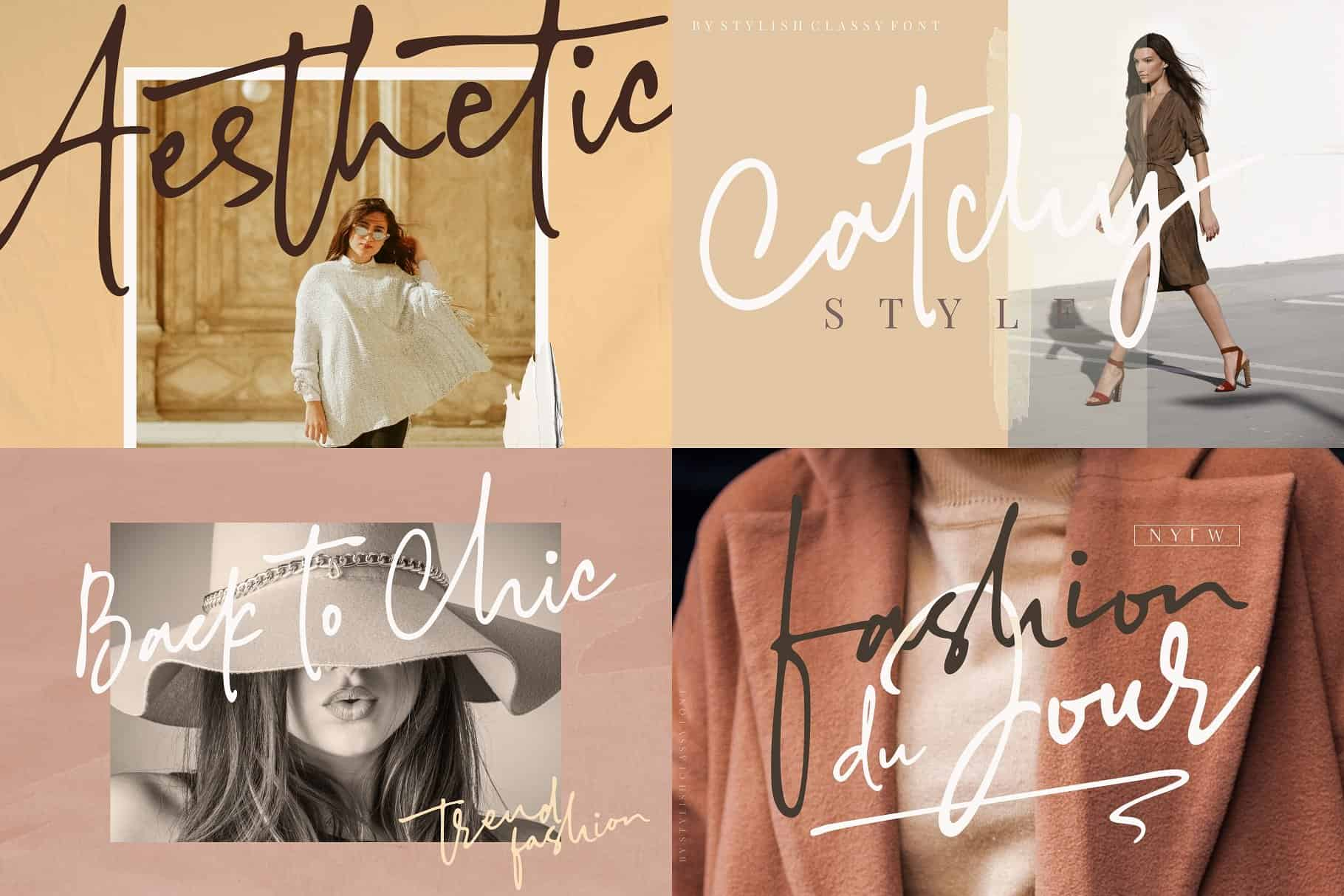 Download Stylish Classy font (typeface)