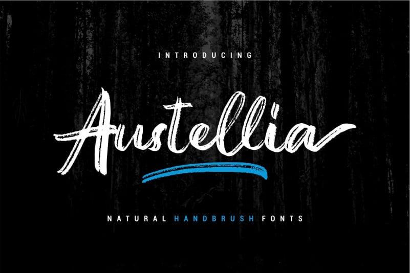 Download Austellia font (typeface)