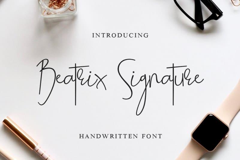 Download Beatrix font (typeface)