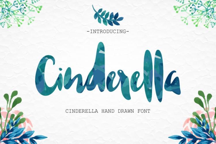 Download Cinderella font (typeface)