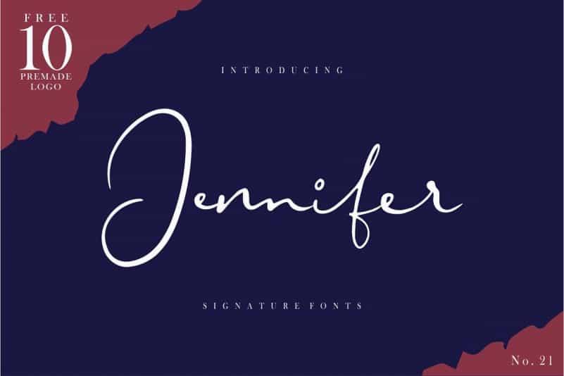 Download Jennifer font (typeface)