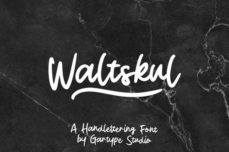 Download Waltskul font (typeface)