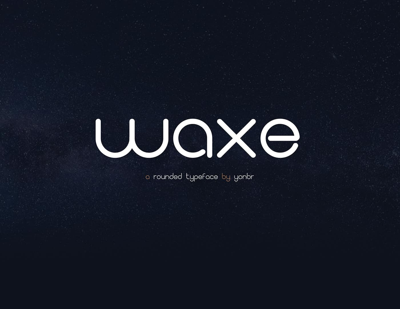 Download Waxe font (typeface)