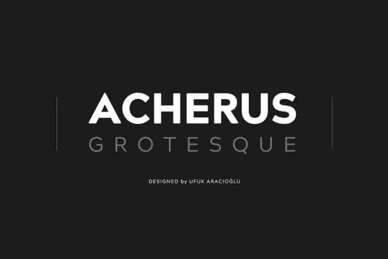 Download Acherus Grotesque font (typeface)