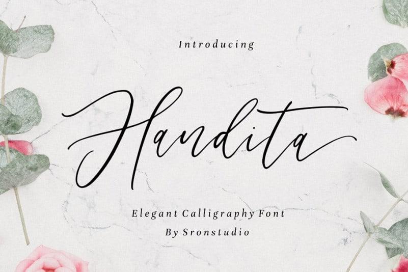 Download Handita font (typeface)