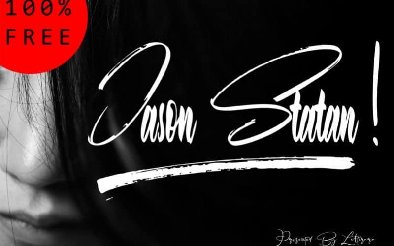 Download Jason Statan font (typeface)