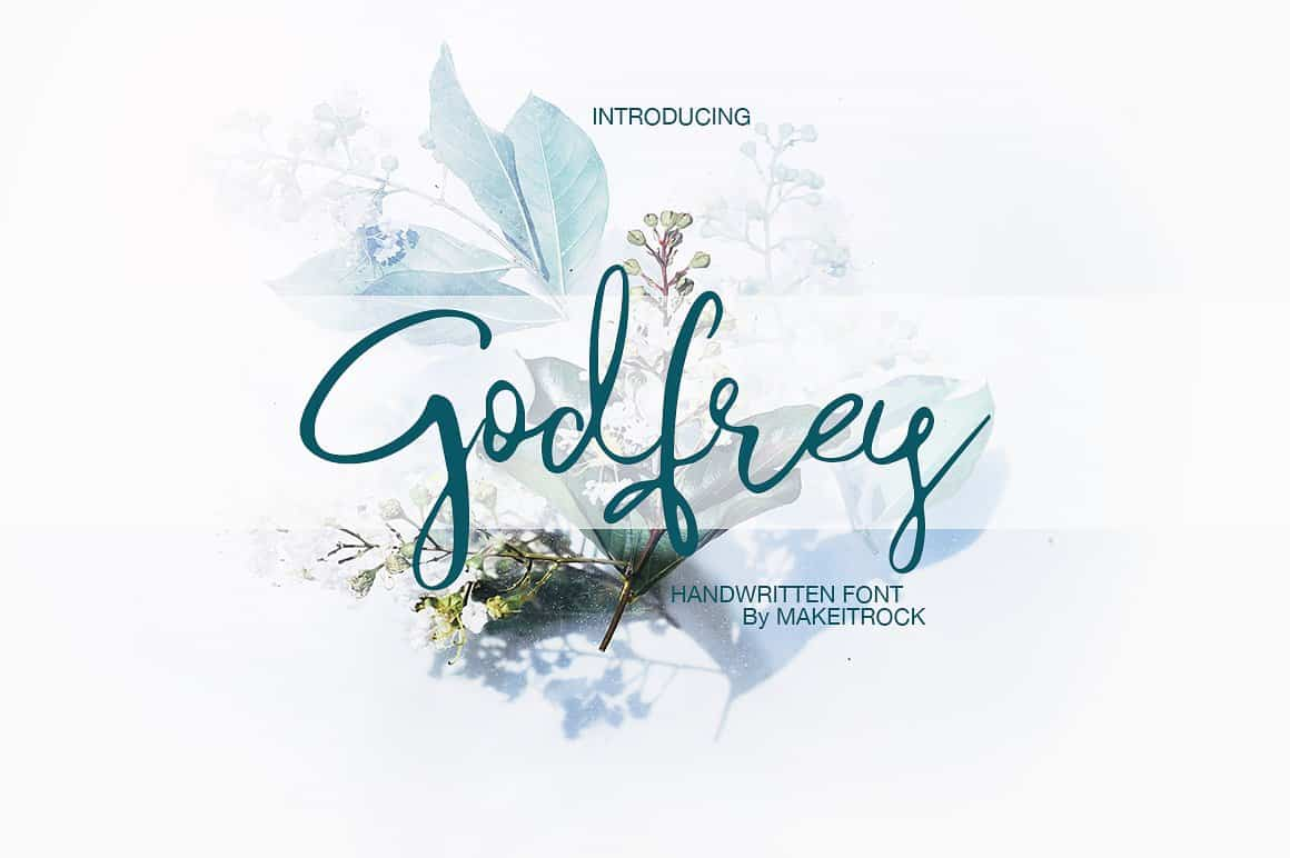 Download Godfrey font (typeface)