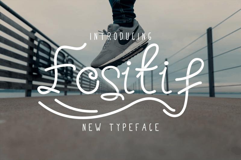Download Fositif font (typeface)