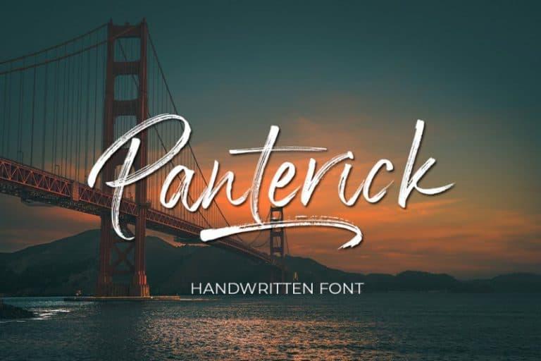 Download Panterick font (typeface)