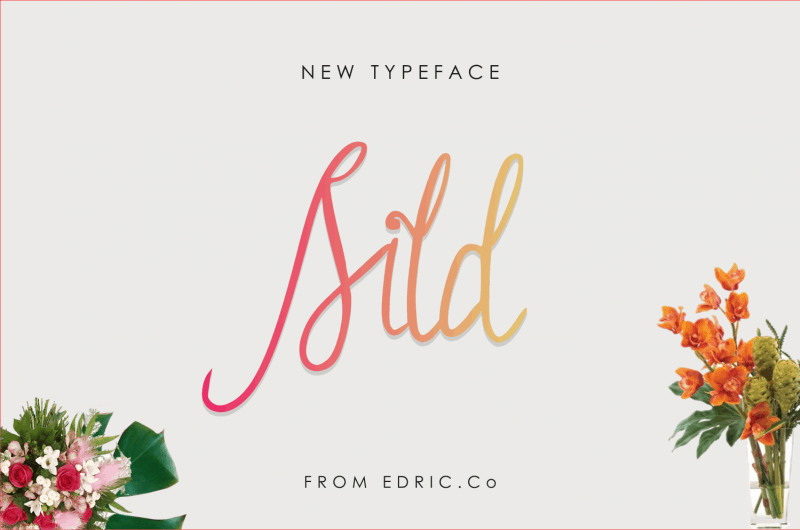 Download Sild font (typeface)