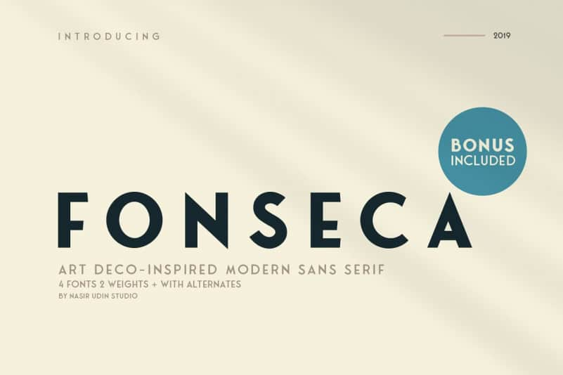Download Fonseca font (typeface)