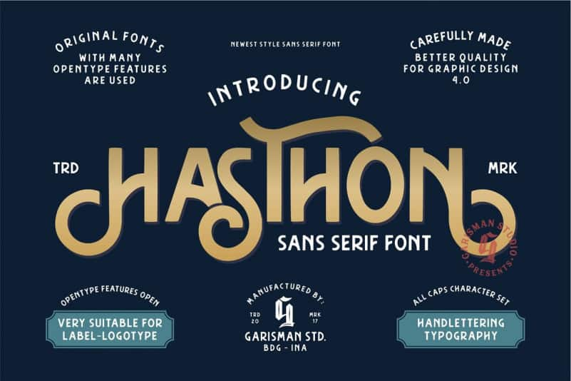 Download Hasthon font (typeface)