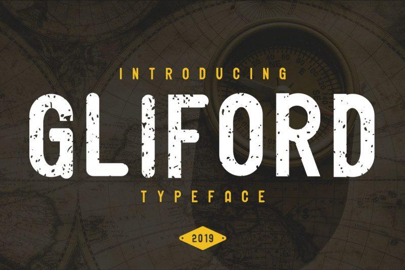 Download Gliford font (typeface)
