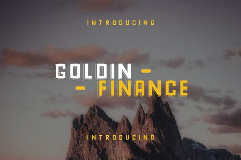 Download Goldin Finance font (typeface)