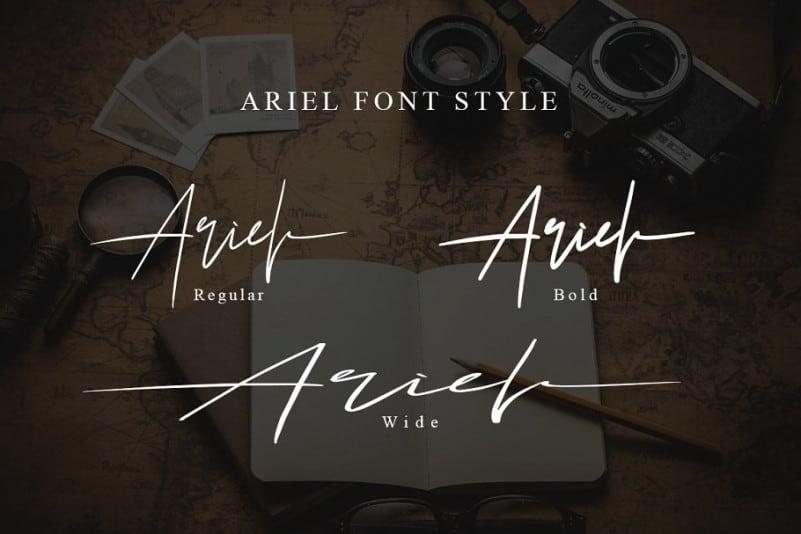 Download Ariel font (typeface)