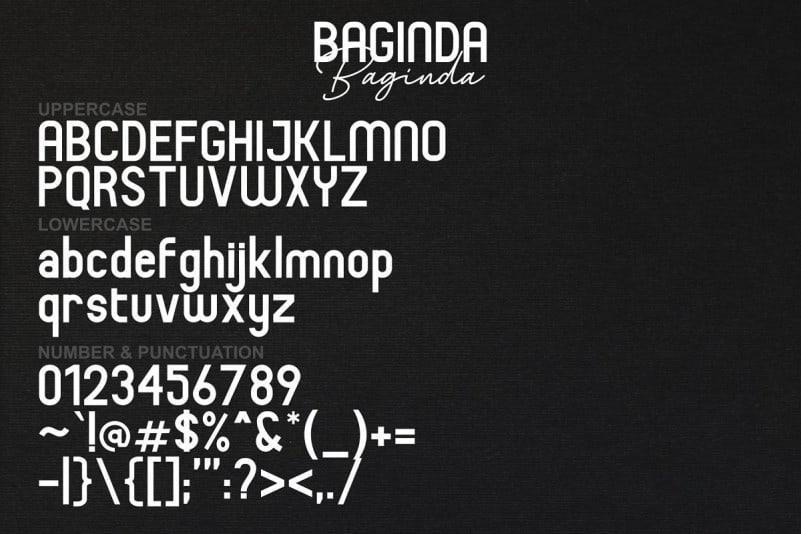 Download Baginda font (typeface)