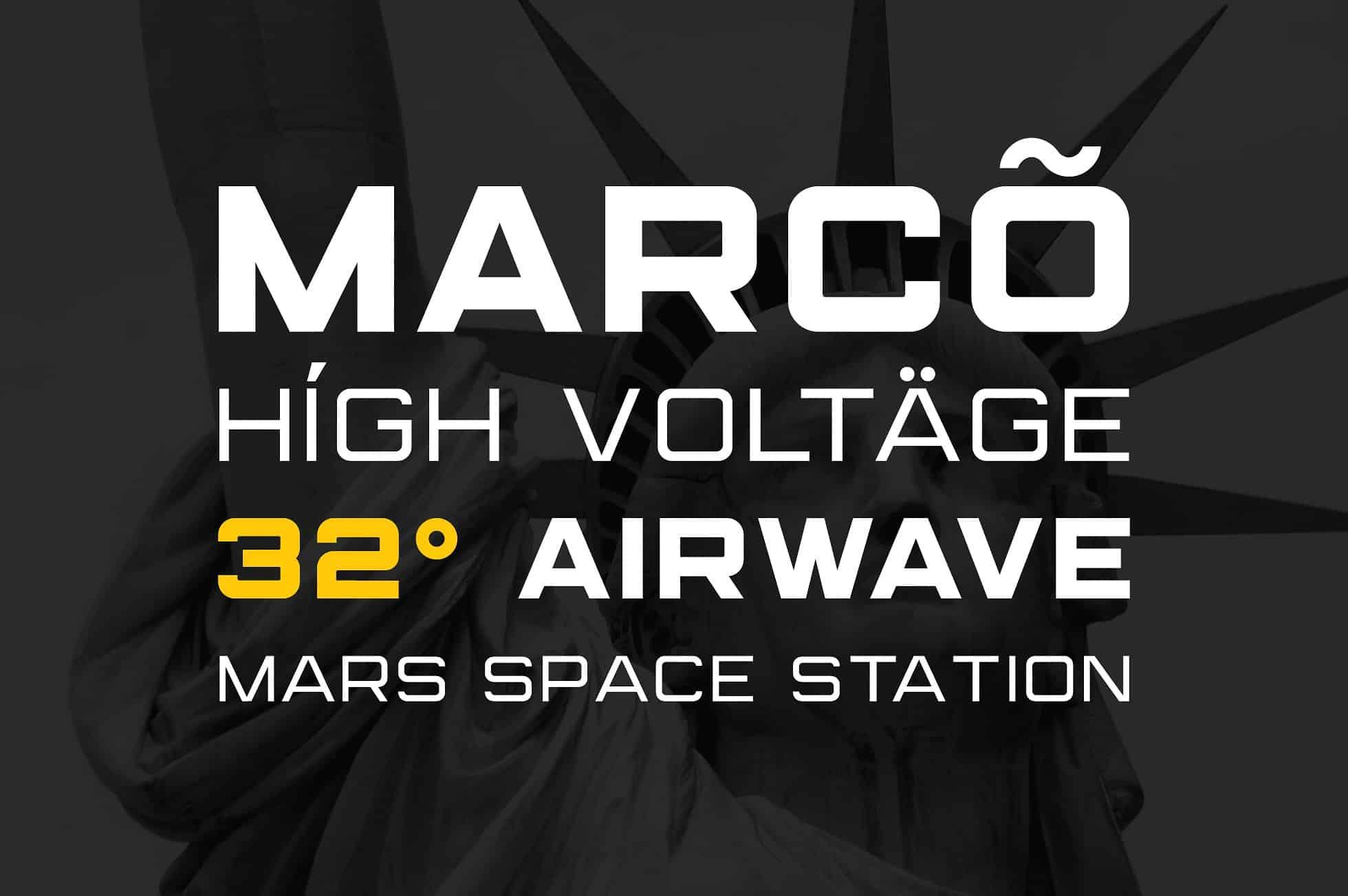 Download Marsek font (typeface)