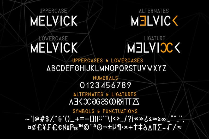Download Melvick font (typeface)