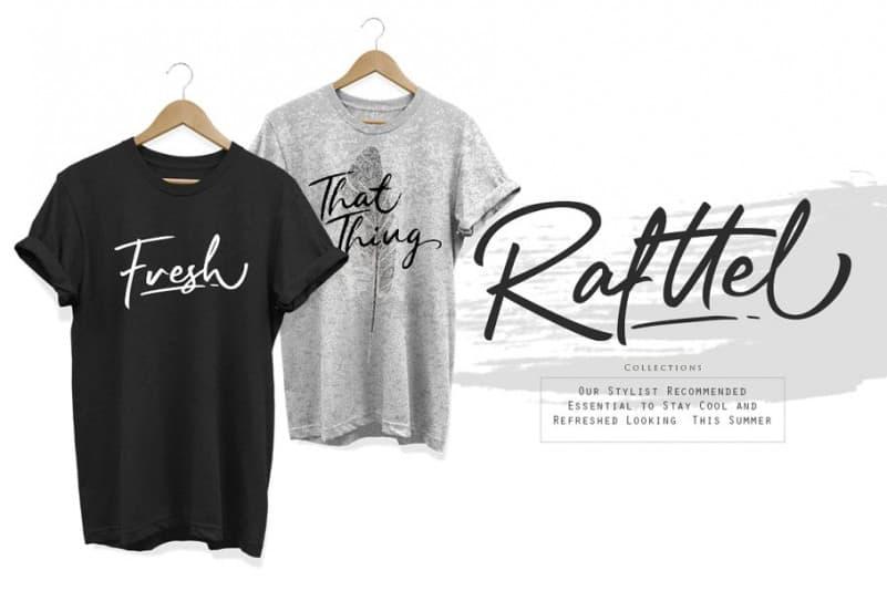 Download Rafftel font (typeface)