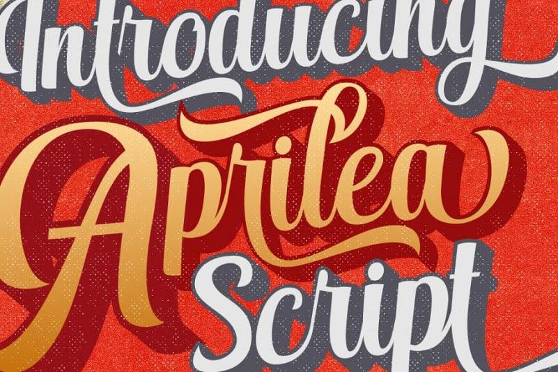 Download Aprilea font (typeface)