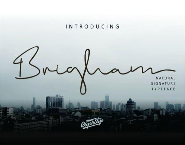 Download Brigham font (typeface)