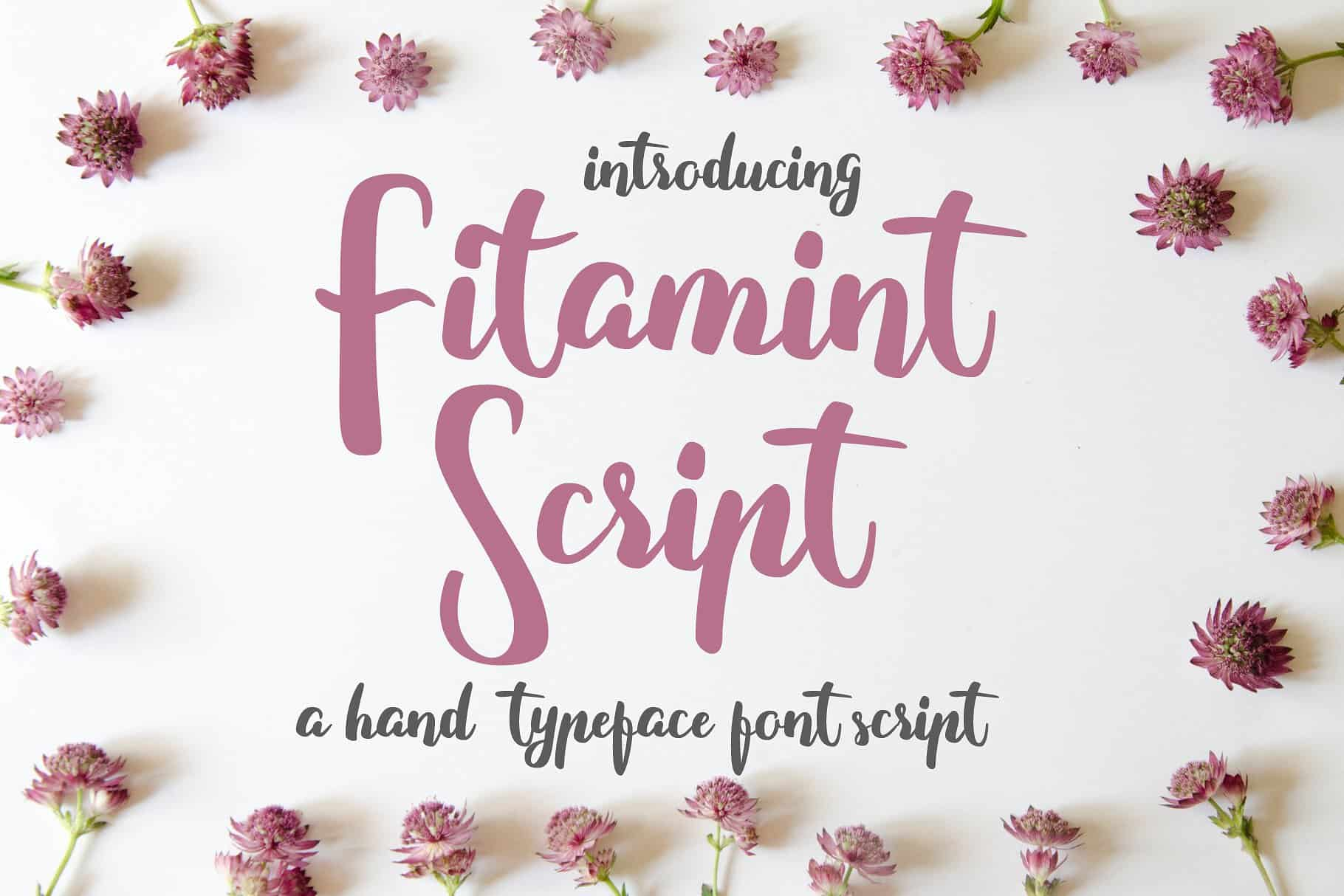 Download Fitamint font (typeface)