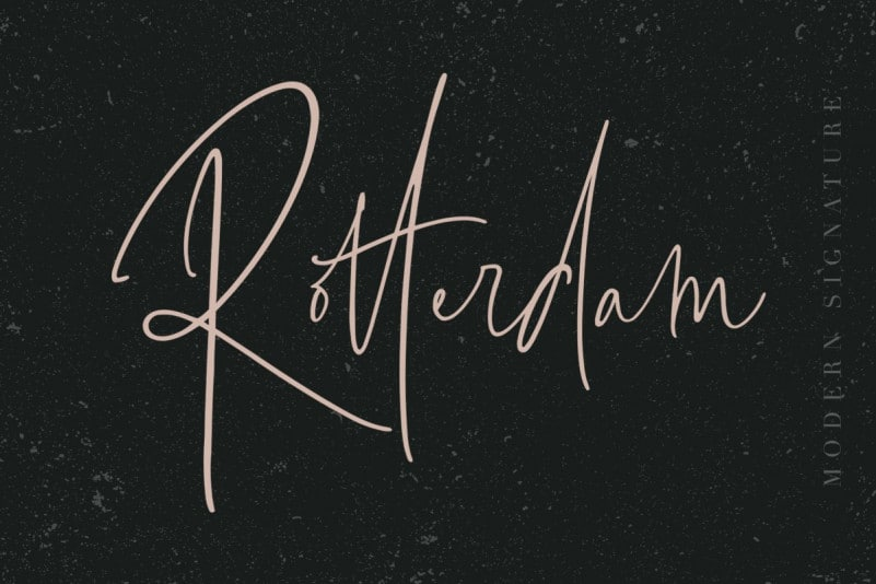 Download Rotterdam font (typeface)