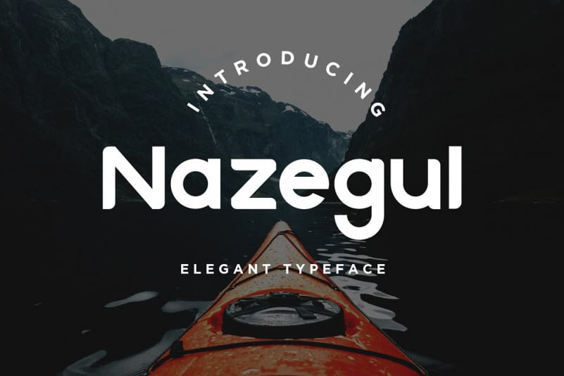 Download Nazegul font (typeface)