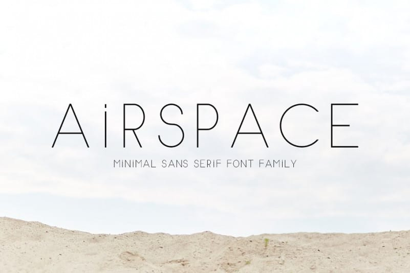 Download Airspace font (typeface)